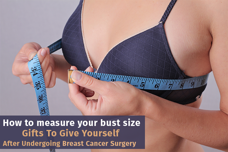 How to measure your bust size